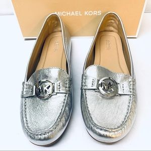 Michael Kors Leather Driving Loafers